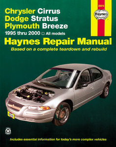 Chrysler Cirrus, Dodge Stratus, Plymouth Breeze (1995-2000)