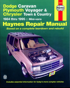 Dodge Caravan, Plymouth Voyager & Chrysler Town & Country (1984-1995)