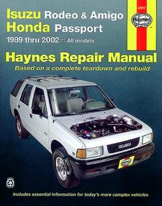 Isuzu Rodeo, Amigo, & Honda Passport covering Isuzu Rodeo (91-02), Isuzu Amigo (89-94), Isuzu Amigo (98-02), Honda Passport (95-02)