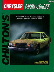 Chrysler Aspen/ Volare for 1976-80