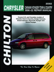 Chrysler Caravan/Voyager/Town&Country for 1996-02 (Excludes information specific to all-wheel drive models)