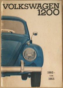 VW Kever 1200 limousine en cabriolet 1960 t/m 1965