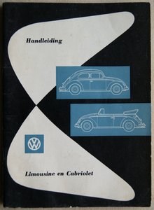 VW Kever Limousine en Cabriolet 1957