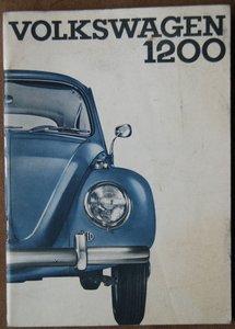 VW Kever 1200 Limousine en Cabriolet 1964