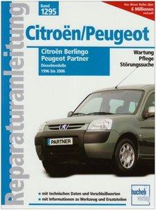 Citroen Berlingo / Peugeot Partner Diesel 1996-2006