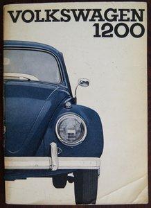 VW Kever 1200 Limousine en Cabriolet 1962