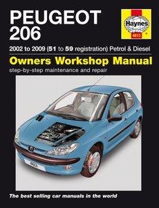 Peugeot 206 Petrol & Diesel (02 - 09)