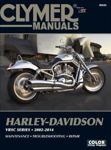 Harley Davidson VRSC Series 2002-2014 M426. Harley-Davidson VRSCA, VRSCB, VRSCAW, VRSCSE, VRSCX, VRSCR, VRSCD and VRSCDX manual.