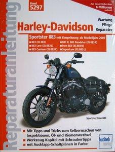 Harley Davidson 883 - Einspritzer und Zahnriemen ab Modelljahr 2007 / AANBIEDING !!
