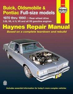 Buick, Oldsmobile & Pontiac full-size RWD petrol (1970-1990)