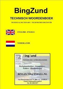 Auto- en Motortechnisch Vertaal-Woordenboekje EN-NL