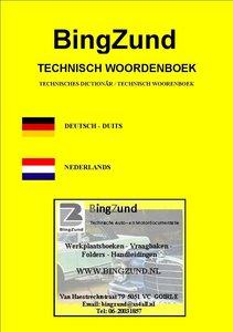 Auto- en Motortechnisch Vertaal-Woordenboekje DU-NL