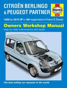 Citroen Berlingo & Peugeot Partner Petrol & Diesel (96 - 10)