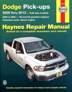 Dodge Full-Size Pick-ups, '09-'12