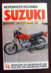 Suzuki Alle 250-400-425 en 450 Twins, Tweecilinders GS/GSX250, GS400, GSX400, GS425, GS450  1982