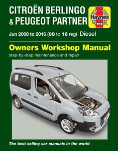 Citroen Berlingo & Peugeot Partner Diesel (June 08 - 16)