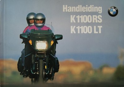 BMW K1100RS K1100LT 1995 / Nederlands