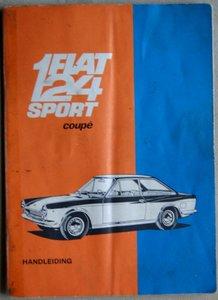 Fiat 124 Sport Spider + Coupé en Spider 1968