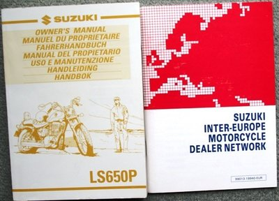 Suzuki LS650P  1999 plus Dealerslijst