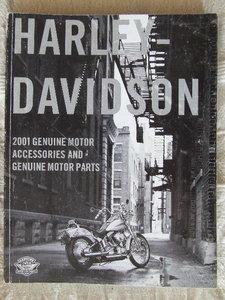 Harley Davidson, Genuine motoraccessoires and genuine motorparts 2001