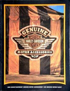 Harley Davidson, Genuine Motor Accessoiries and Genuine Motor Parts 1996