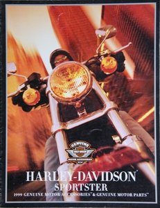 Harley Davidson, Sportster Genuine Motor Accessoiries and Genuine Motor Parts 1999