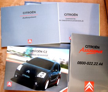 Citroën C2  2004 in Map / Hoes