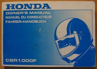 Honda CBR1000F 1996