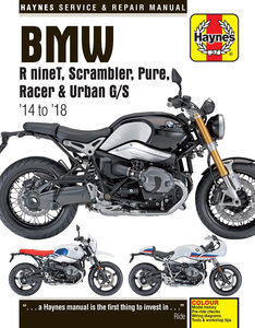 BMW R nineT – Scrambler – Pure – Racer - Urban G/S  ( 2014 - 2018)