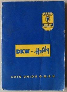DKW Hobby 1955 Soziusfest (de prijs is inclusief verzenden)