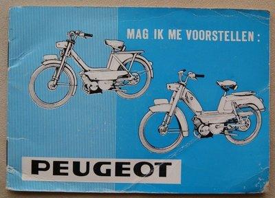 Peugeot - Mag ik me even voorstellen: Peugeot  1967 (de prijs is inclusief verzenden)