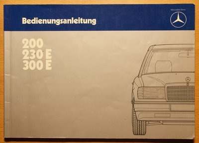 Mercedes 200, 230E, 300e Typ W124 1984
