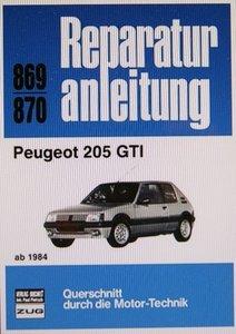 Peugeot 205 GTI ab 1984 ( Druck auf Bestellung )
