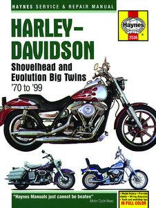Harley Davidson Shovelhead and Evolution Big Twins 1970 - 1999