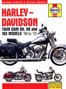 Harley Davidson Twin Cam 88, 96 & 103 Models 1999 - 2010