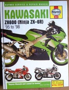 Kawasaki ZX-6R Ninja Fours ( 1995 - 1998 )  Harde kaft