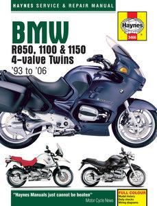 BMW R850, 1100 & 1150 4-valve Twins (93 - 06)