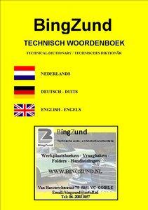 Auto- en Motortechnisch Vertaal-Woordenboekje NL-DE-EN / LET OP: is een PDF-FILE