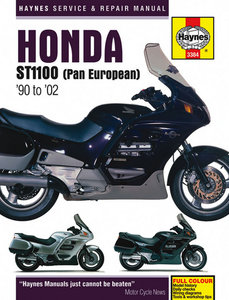 Honda ST1100 Pan European V-Fours 1990 - 2002