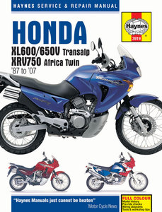 Honda XL600/650V Transalp & XRV750 Africa Twin (87 - 07)