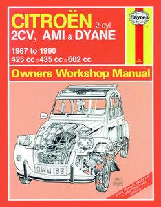 Citroën 2CV, Ami & Dyane (67 - 90)