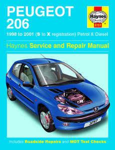 Peugeot 206 Petrol and Diesel (98 - 01)